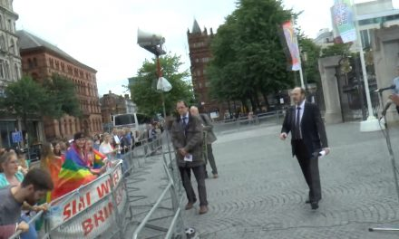 VIDEO: Belfast Gay Pride Supporters Threaten Christians with Violence